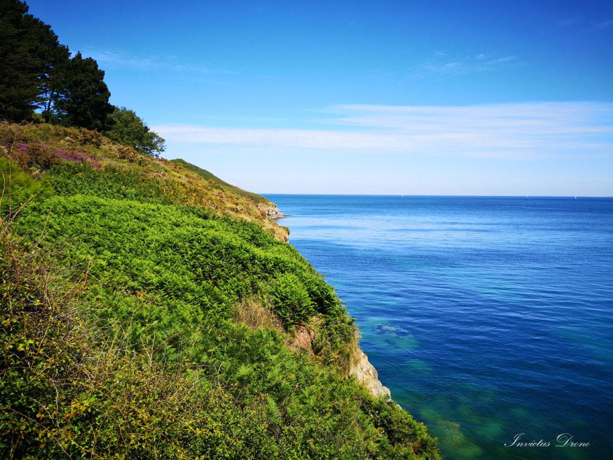 vacances écologiques à la mer - belle ile - invictus drone