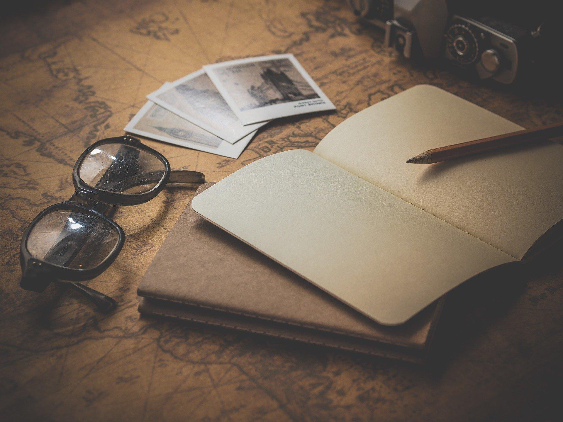 carte et repérage de vacances