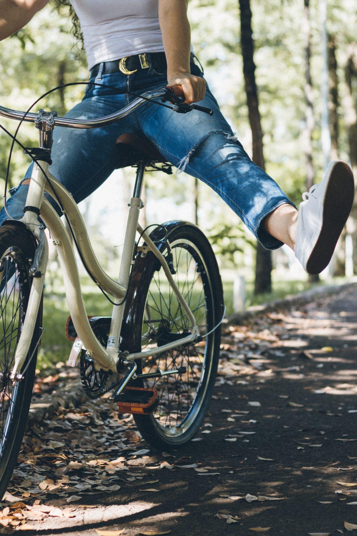 Vélo en forêt après le déconfinement