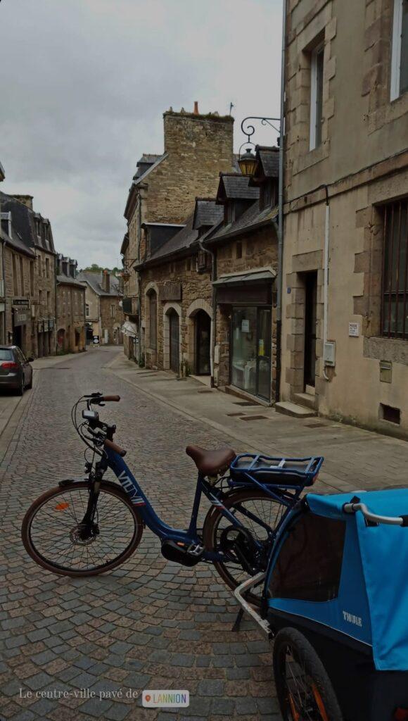 Mon vélo à assistance électrique de location KAOUANN à Lannion