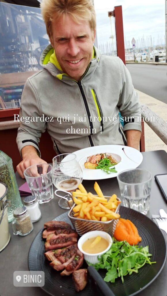 Crêperie en Bretagne à Binic sur la Vélomaritime