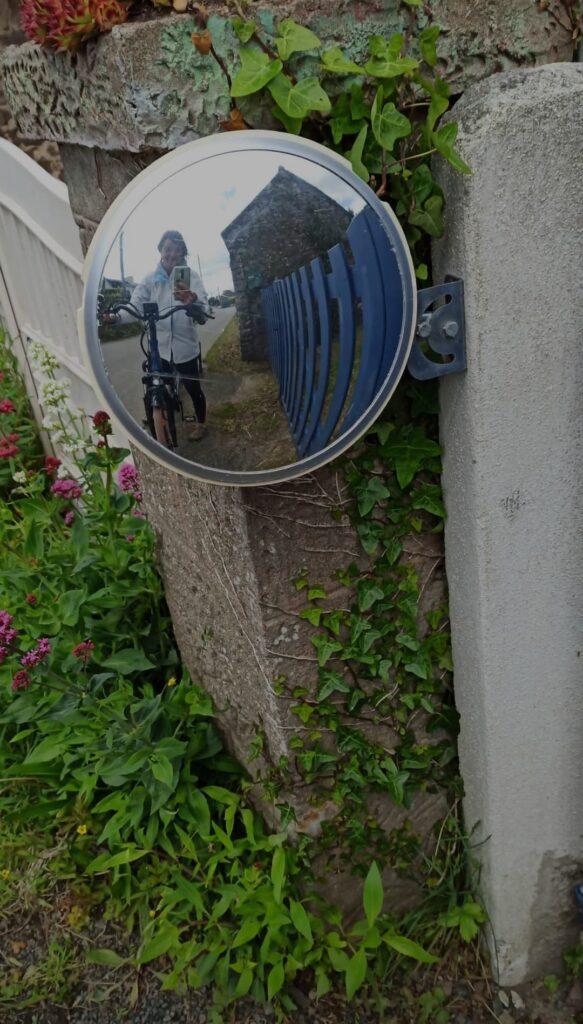 Passion selfie vélo sur la Vélomaritime en Bretagne : il en faut peu pour être heureux